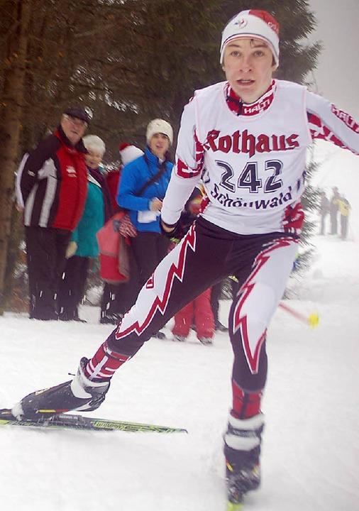 Gelungener Start in den Skiwinter: Adrian Schuler   | Foto: junkel