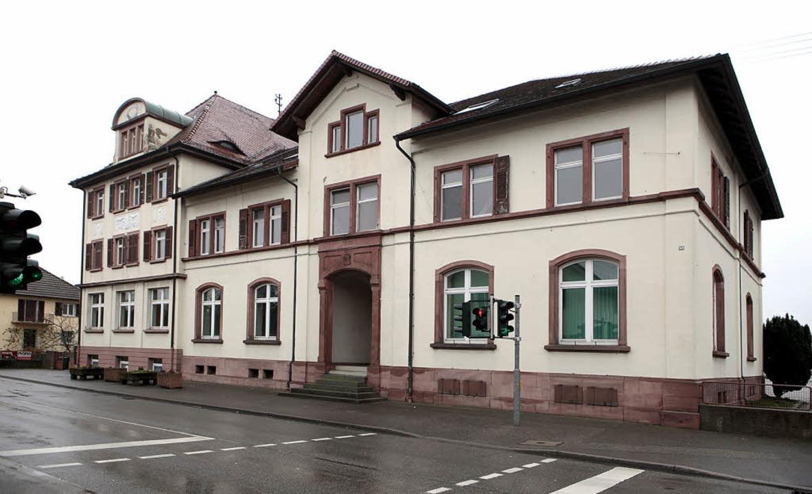 Dickster Brocken mit 2,5 Millionen Eur...erung der alten Schule  in Ichenheim.   | Foto: Ch. Breithaupt