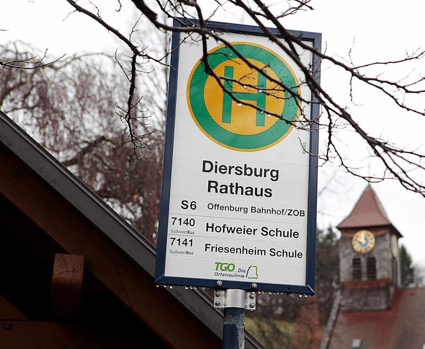 Die Busanbindung von Diersburg soll besser werden.   | Foto: Ch. Breithaupt