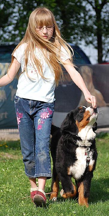 Auch Hunde müssen das richtige Benehme...penheim bietet deshalb einen Kurs an.     Foto: Archiv:BZ