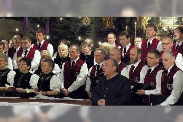 Konzert versetzt in Weihnachtslaune