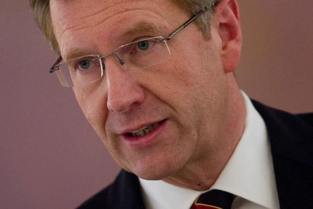 Bundespräsident Christian Wulff entschuldigt sich