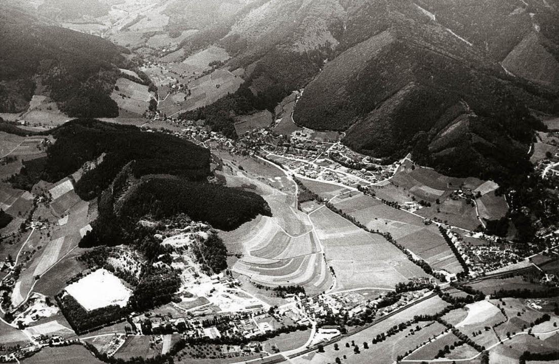 1954 machte die Stolberger Zink AG ihr...niertem Areal ein Baugebiet entstehen.    Foto: Privat