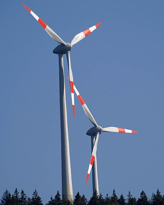 Zusammenarbeit ist bei  Ausweisungen von Windkraftanlagen gewünscht.     Foto: Bz