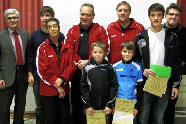 Gemeinde würdigt sportliche Erfolge