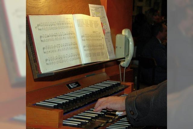 Messen und Motetten in den Festtagsgottesdiensten