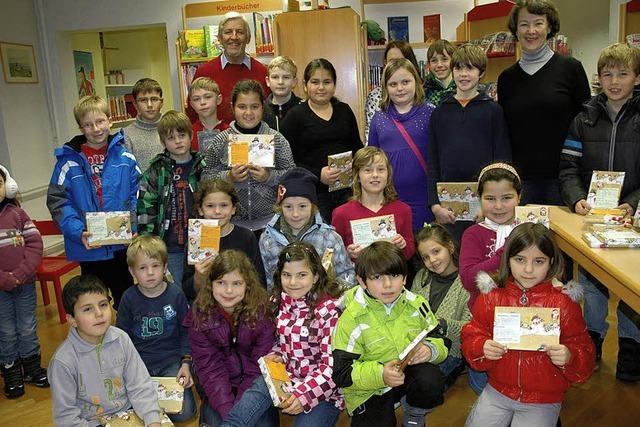 Lesefreude für 35 Kinder
