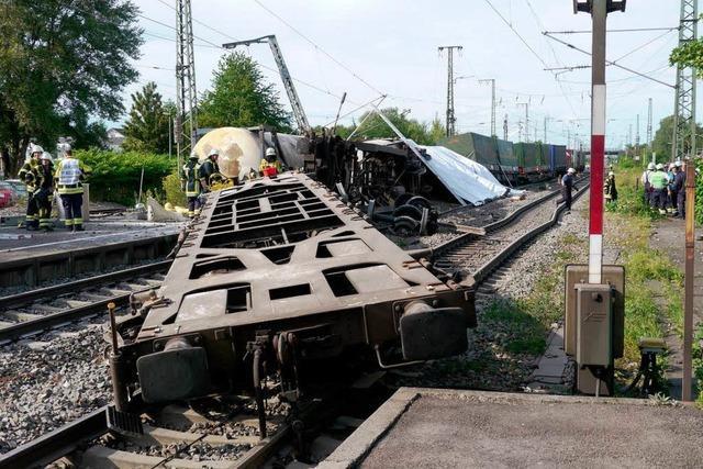 Ermüdungsriss im Fahrwerk hat Güterzugunfall ausgelöst