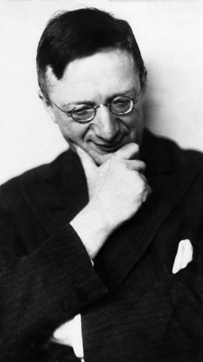 Alfred Döblin im Jahr der Machtergreifung 1933   | Foto: ullstein