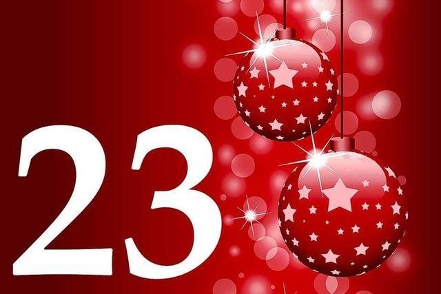23. Dezember 2011: Die gute Nachricht aus Südbaden