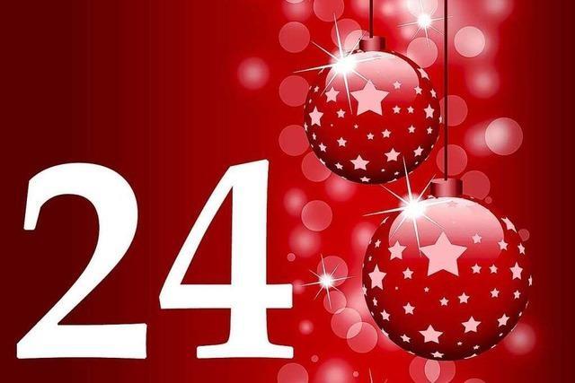 24. Dezember 2011: Die gute Nachricht aus Südbaden