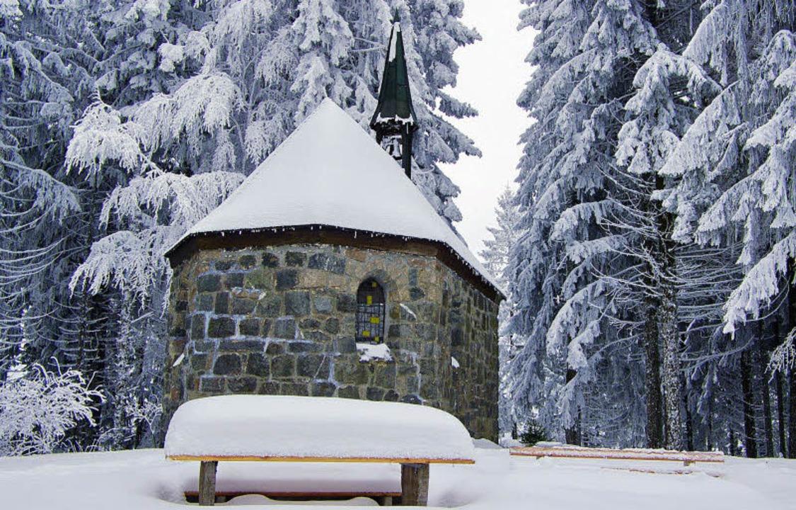 Die Strohmeyerkapelle – eine Pilgerstätte auf tausend Höhenmetern.  | Foto: Manfred lange