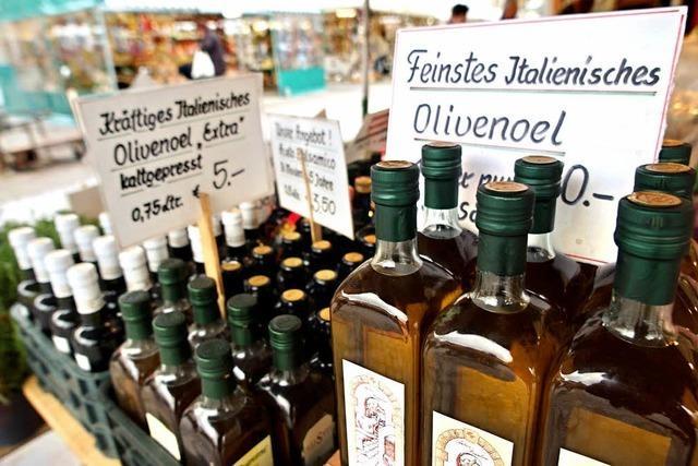 Olivenöl aus Italien: Zu 80 Prozent Etikettenschwindel?