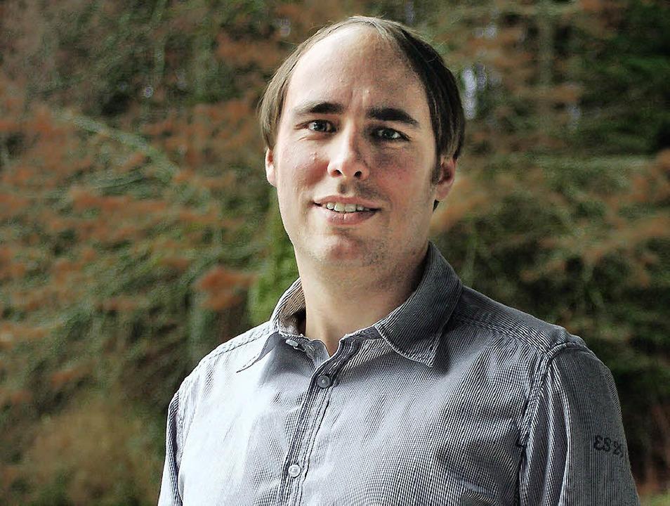Astrophysiker Christian Nutto aus Wemb...terhin ausgesprochen heimatverbunden.   | Foto: Felix held