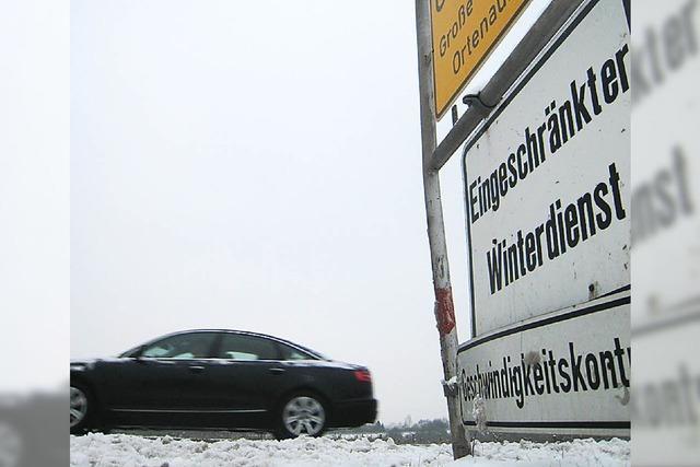 Straßenmeistereien: Eisglättemeldungen direkt aufs Handy der Mitarbeiter