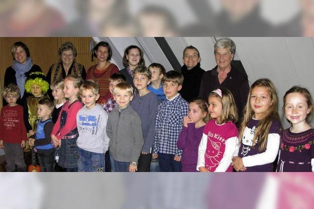 Die singenden Kinder aus der Nachbarschaft