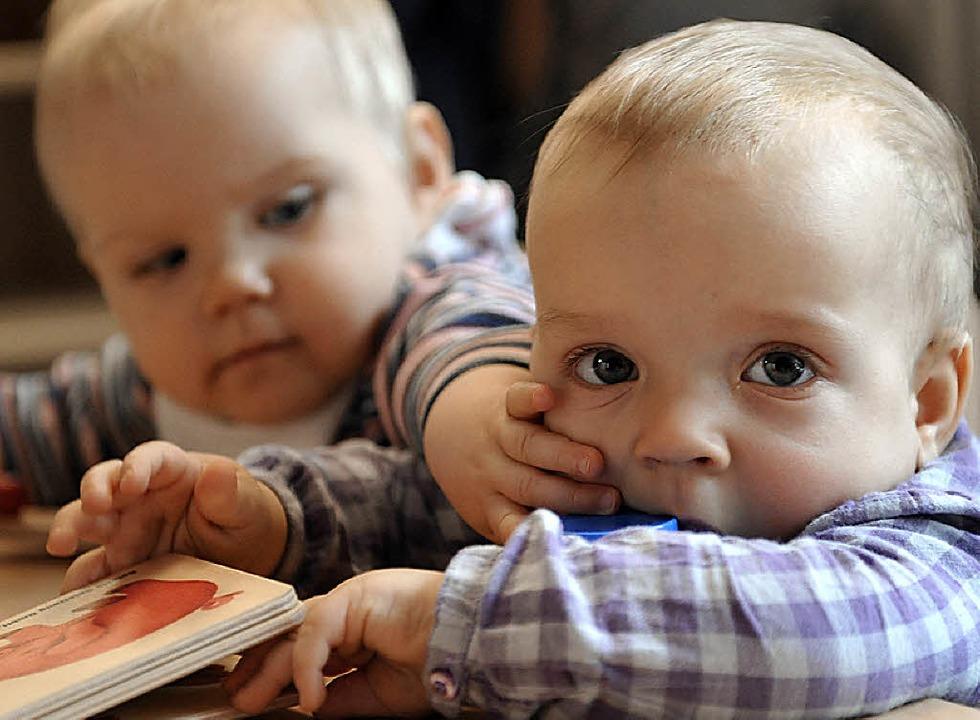 Die Gemeinde Oberried verbessert  das Angebot zur Kleinkindbetreuung.   | Foto: ddp