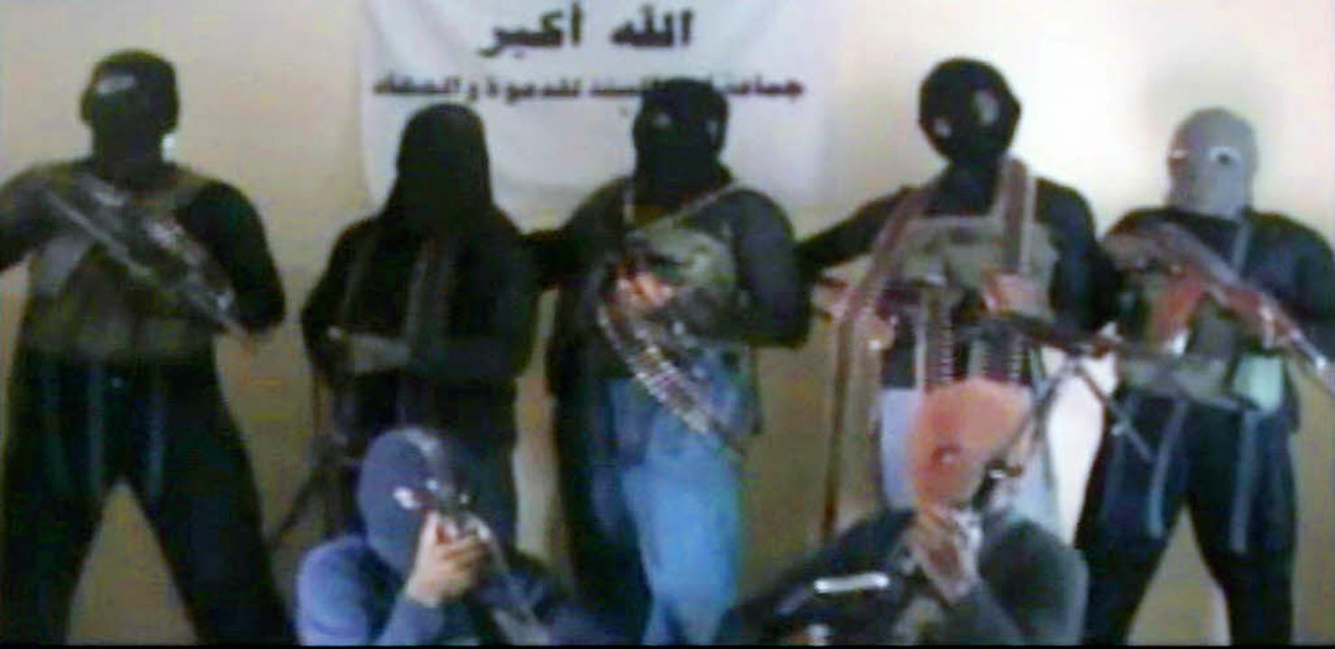Boko-Haram-Anhänger in einem Video aus dem Jahr 2010  | Foto: afp