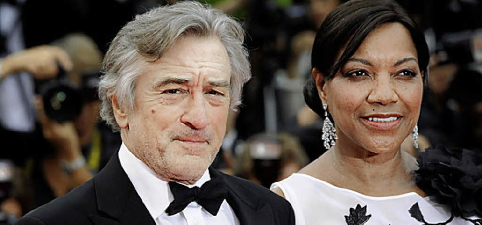 De Niro 2011 mit Ehefrau   | Foto: AFP