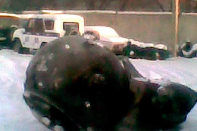 Satelliten-Trümmer durchschlagen Dach in Sibirien