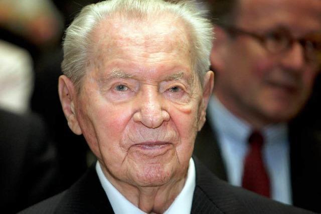 Versandhaus-Magnat Werner Otto ist gestorben