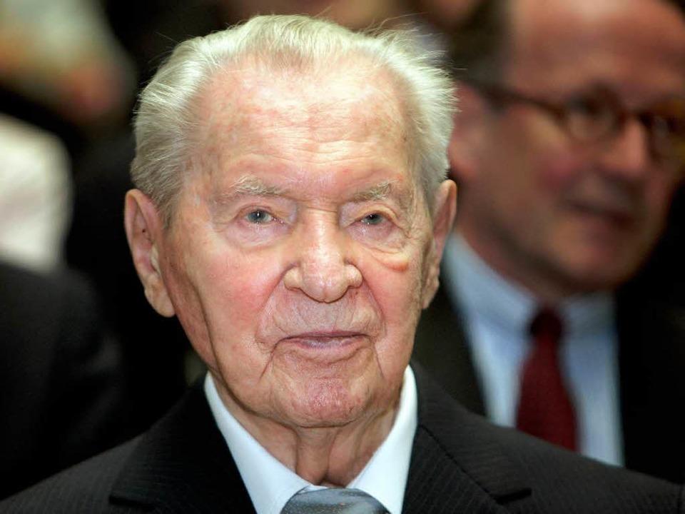 Versandhaus-Magnat Werner Otto ist gestorben.    Foto: dpa