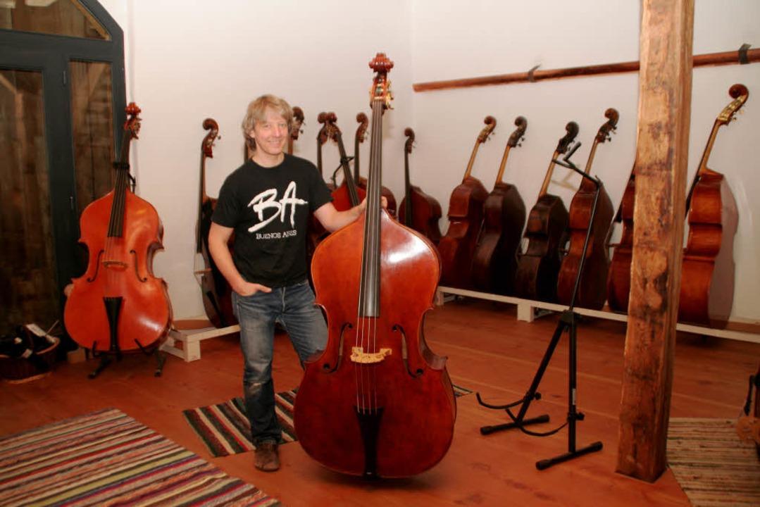 Geigenbauer Stefan Johann Krattenmacher  | Foto: Erika Sieberts