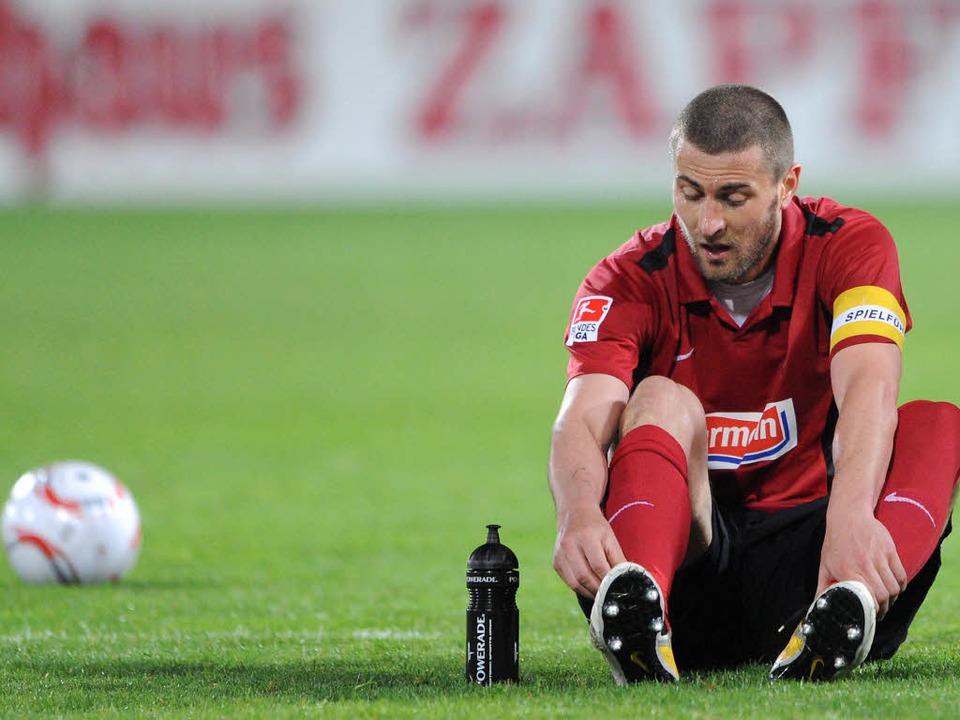 Für wen schnürt Heiko Butscher in Zukunft die Fußballschuhe?  | Foto: dapd
