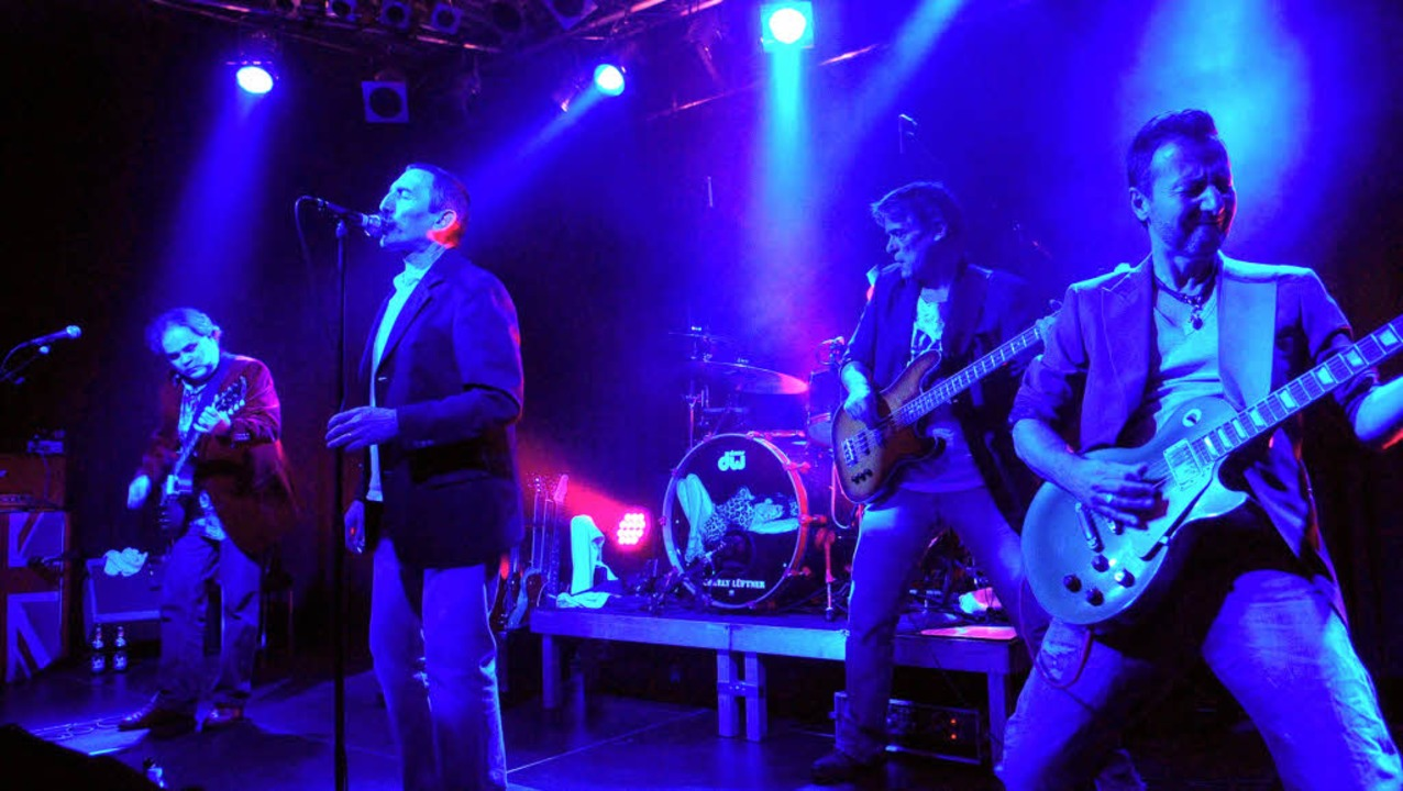 Der Auftritt von Grand Daddy Dirty zeigt, Bluesrock hat ein Publikum in Lahr.     Foto: Wolfgang Künstle