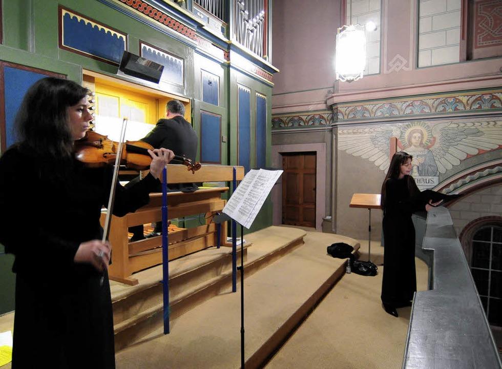Konzert in St. Peter und Paul   | Foto: W. Künstle