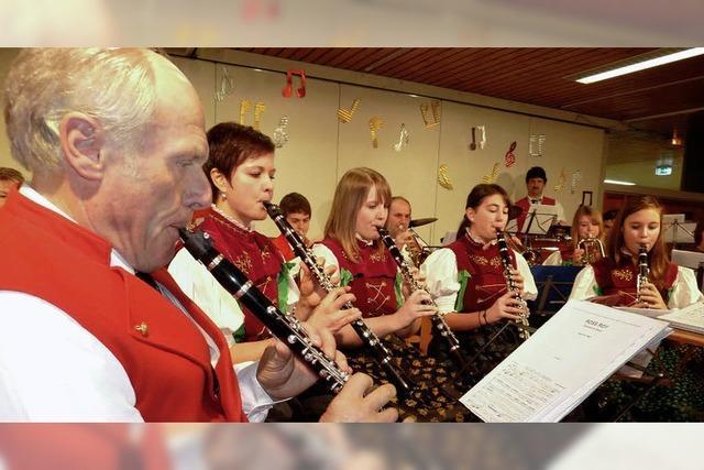 Ein leidenschaftliches Konzert der Trachtenkapelle