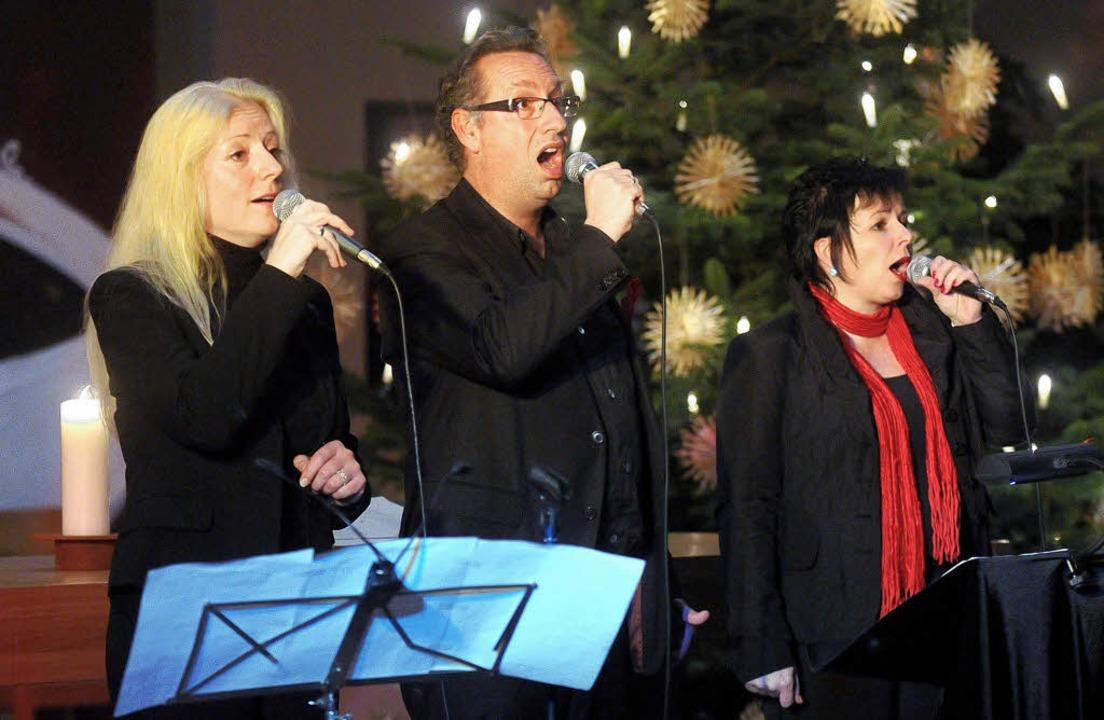 Weihnachtliche Lieder hat das Ensemble Belcanto in Altenheim präsentiert.     Foto: Wolfgang Künstle