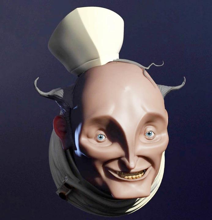 Eine der Figuren, die Michael Herm für...Film sieht der Kopf etwas anders aus.   | Foto: Privat