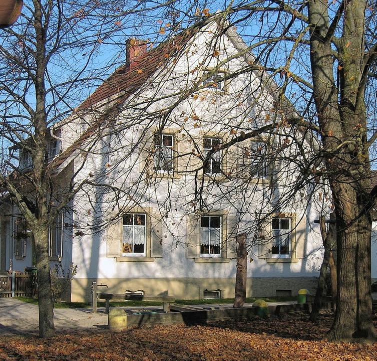 Der Kindergarten St. Anna in Eschbach wird saniert.  | Foto: Grziwa