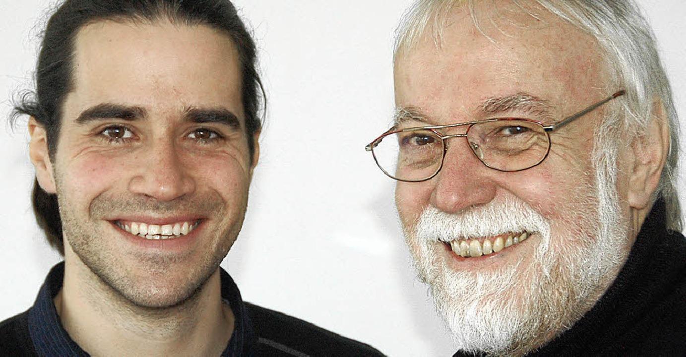 Bieten vom neuen Jahr an eine häuslich...: Steffen (links) und Wolfgang Schell   | Foto: Lauber