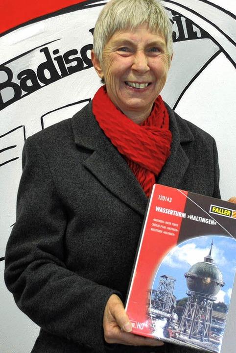 Ruth Lutomski freute sich  <ppp></ppp>  | Foto: Norbert Sedlak