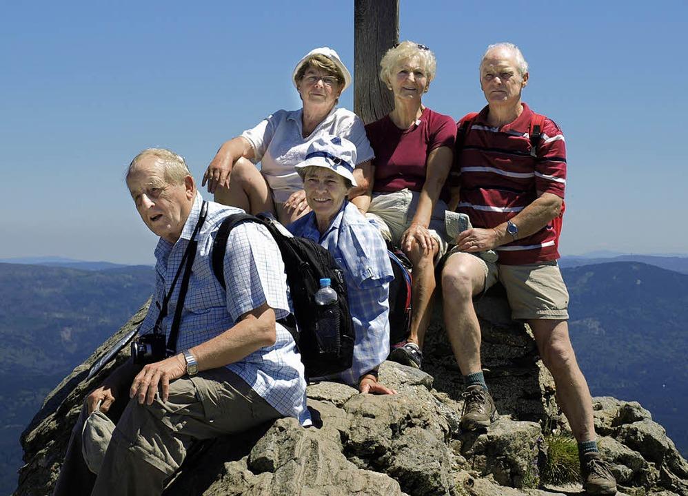Auch 2012 führen Wanderwochen wieder h...den  Großen Arber im Bayrischen Wald.     Foto: Paul Schleer