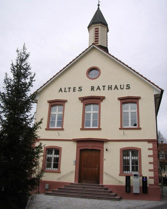 Viel diskutiert: Die Nutzung des alten Rathauses     Foto: Johanna Högg