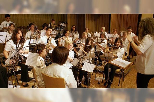 Jugendkapelle begeisterte mit Klangerlebnissen