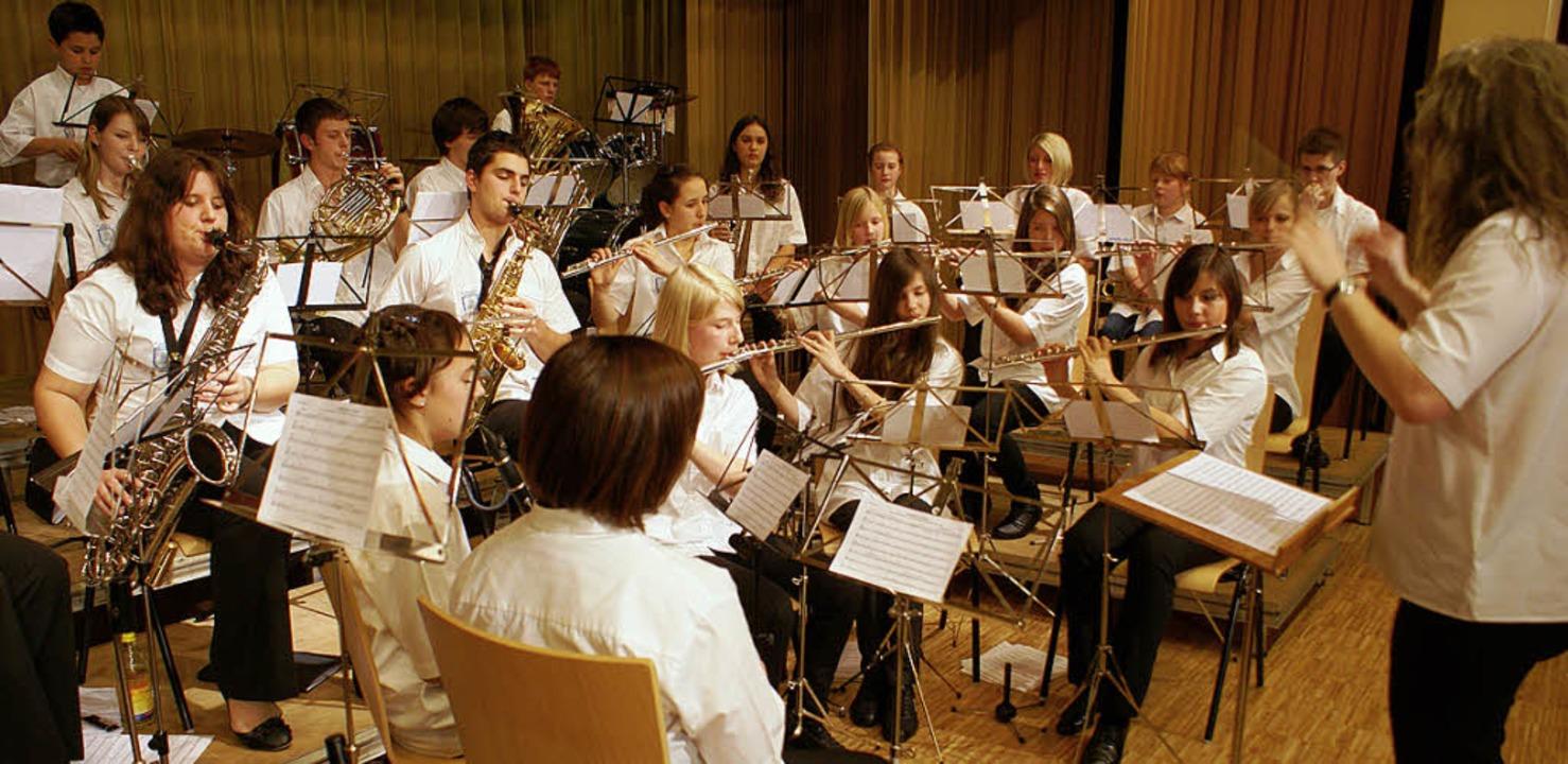 """Mit einem beeindruckenden Konzert wart...quot;Alpenblick"""" Willaringen auf.    Foto: Werner Probst"""