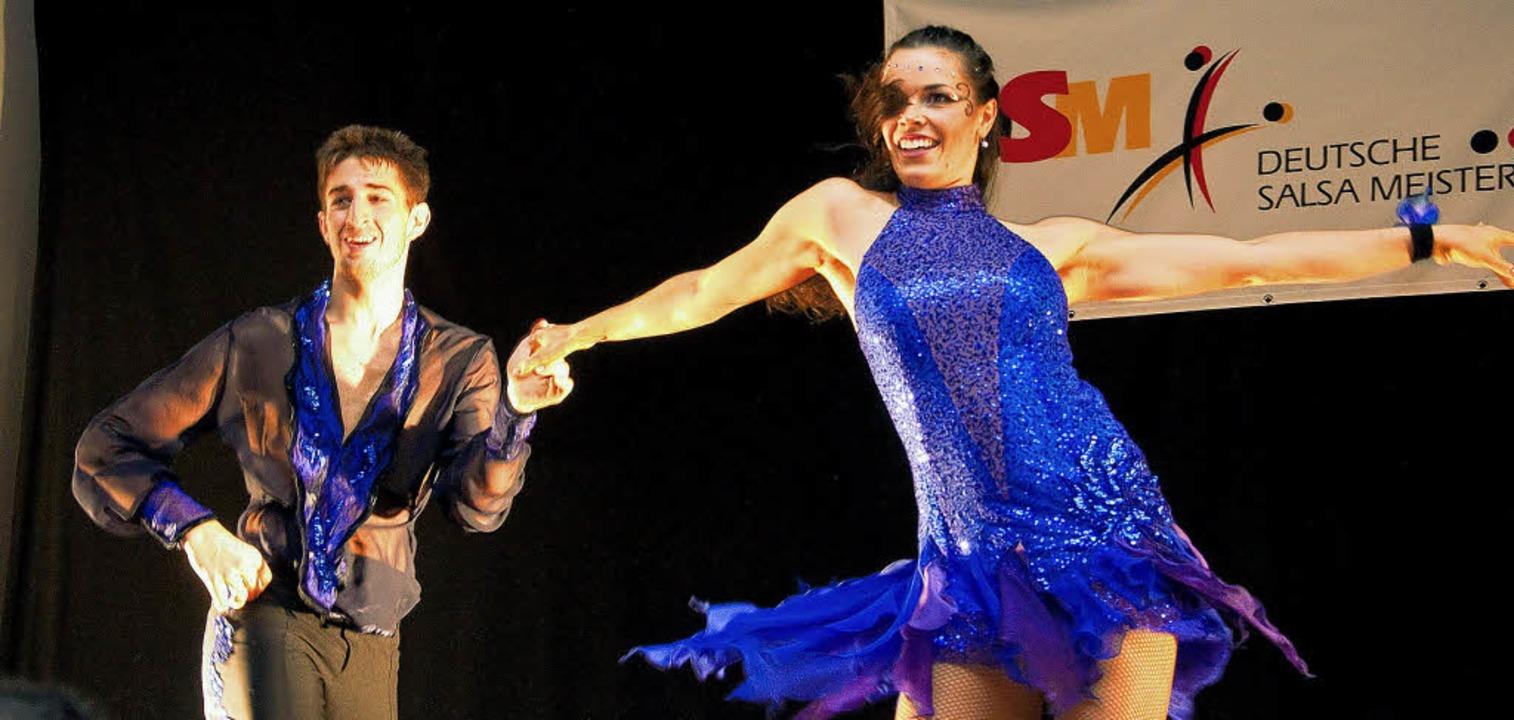Pablo Perez und Luisa Epp haben bei den deutschen Meisterschaften überzeugt.   | Foto: Maurizio Guglielmino