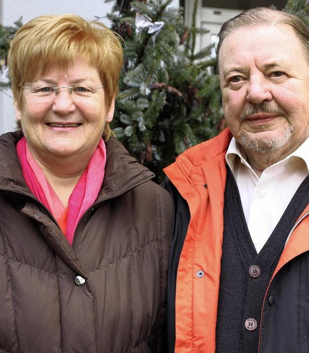 Barbara Schanz und Carl-Erich Wiesner leiten den Freundeskreis.    Foto: Barbara Schmidt