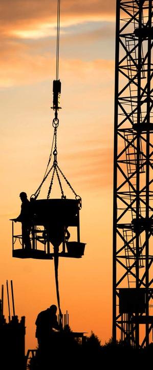 Ganz so hoch hinaus wie dieses Jahr ge... deutsche Wirtschaft 2012 wohl nicht.   | Foto: dapd