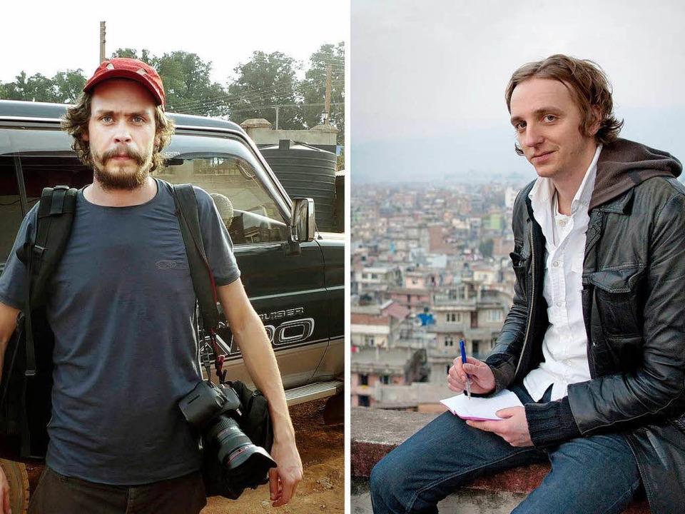 Den schwedischen Journalisten Johan Pe...drohen lange Haftstrafe nin Äthiopien.  | Foto: AFP