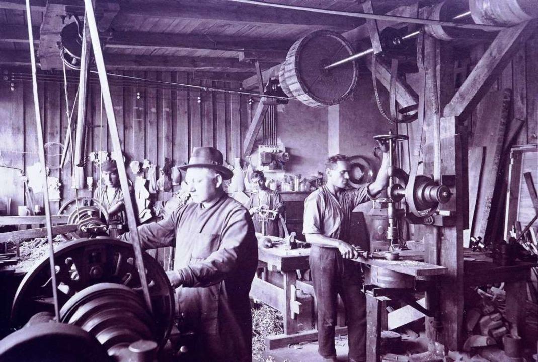 Eine  Glashütte 1928 – Weck (geg...trieb im polnischen Posen  beteiligt.   | Foto: Weck/Gruninger/Junghans/Breisgaumilch