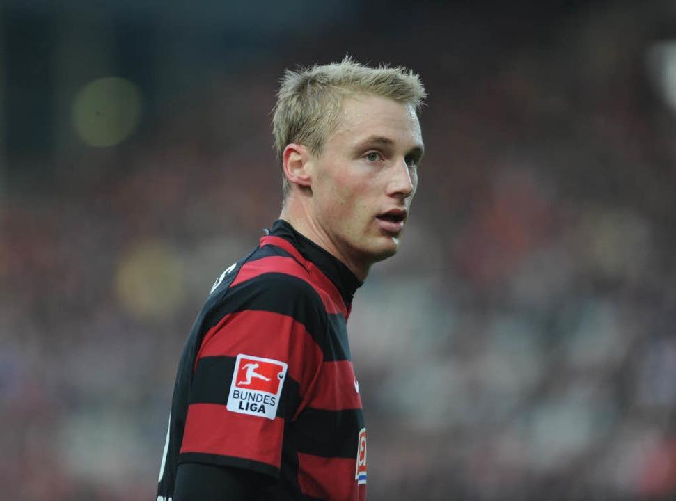 Von der Dreisam an die Spree? Felix Ba...ei Hertha BSC Berlin im Gespräch sein.  | Foto: Meinrad Schön