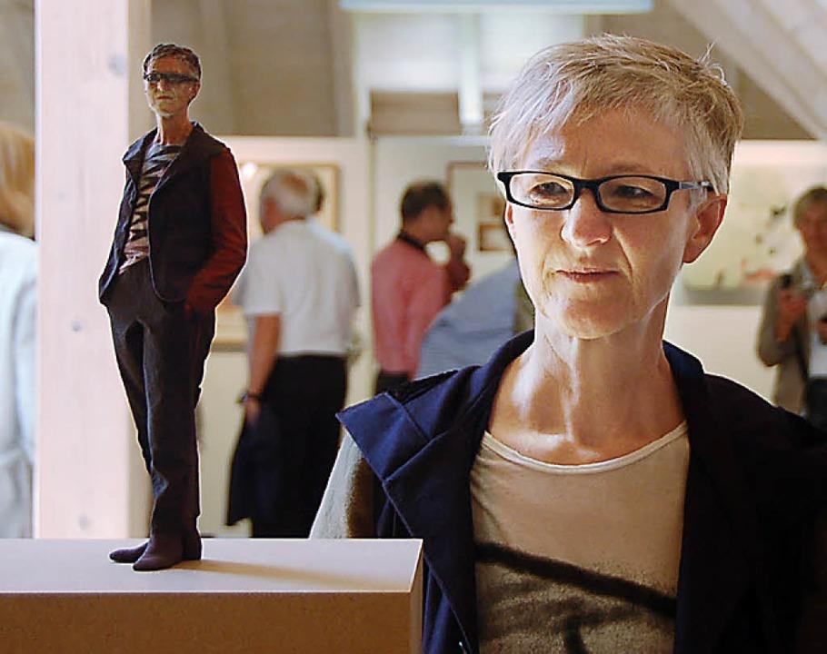 Thoma-Preisträgerin 2011  Karin Sander.  | Foto: Kathrin Blum