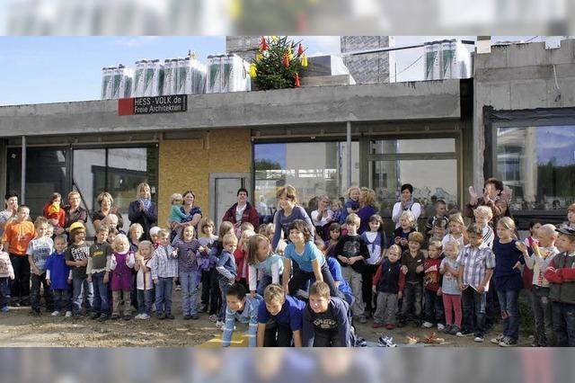 Kinderhaus beherrschendes Thema