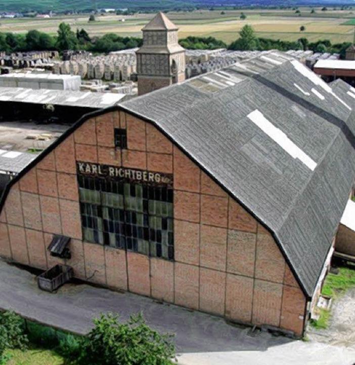 Richtberg-Sägehalle      Foto: M. Hagenbach