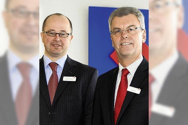 Die Sparkasse komplettiert ihr Vorstandsteam